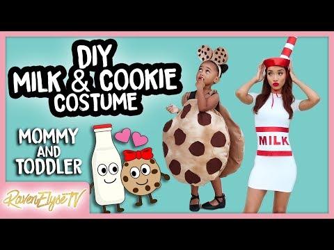 DIY Halloween Costume | MILK & COOKIES | Mommy & Toddler