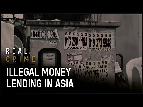 Harassed By Loan Sharks In Singapore | Illegal Money Lending In Asia | Real Crime