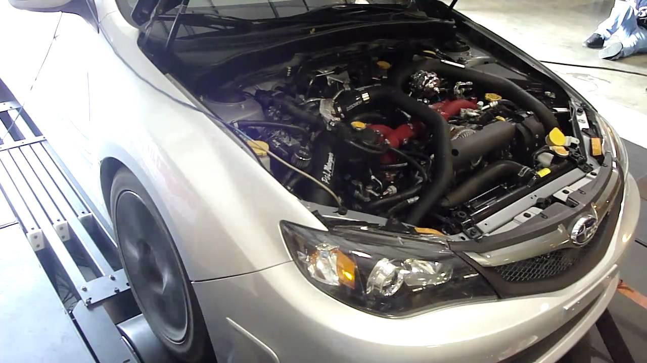 2008 Subaru STi Dyno pull GT3076R