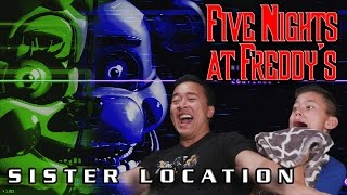 FIVE NIGHTS AT FREDDY'S: Sister Location w/ JUMPSCARE CAM!
