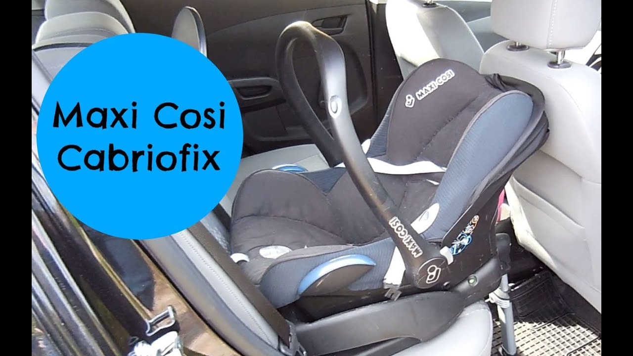 maxi cosi isofix neu f r unter 80 euro youtube. Black Bedroom Furniture Sets. Home Design Ideas