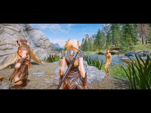 Skyrim Oct 2016 Best 3rd Person Setup
