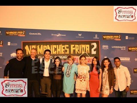 Ver NO MANCHES FRIDA 2 – CONFERENCIA DE PRENSA COMPLETA –  CINE en Español