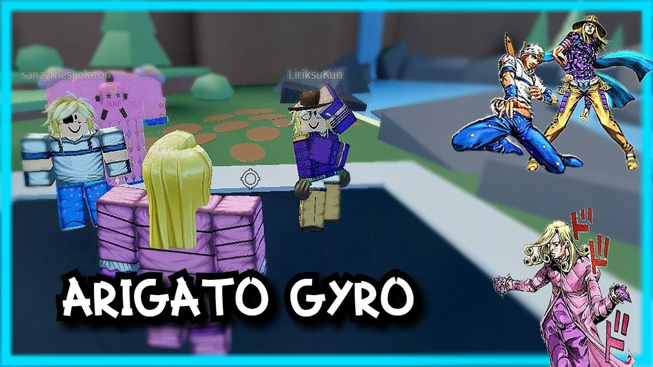 Johnny Gyro Vs Funny Valentine But In Roblox Youtube