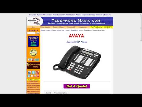 Telecom Tips: Avaya Definity PBX Phones