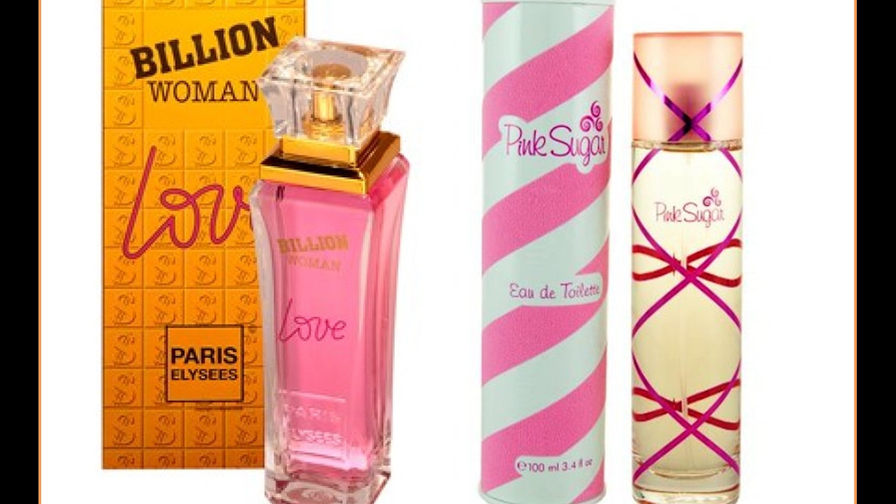 fdf2f39299 Perfume feminino Billion Woman Love de Paris Elysees contratipo do Pink  Sugar