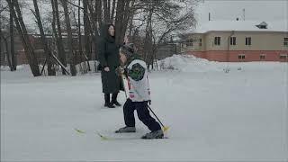Новогодняя лыжная гонка на призы Деда Мороза 2019