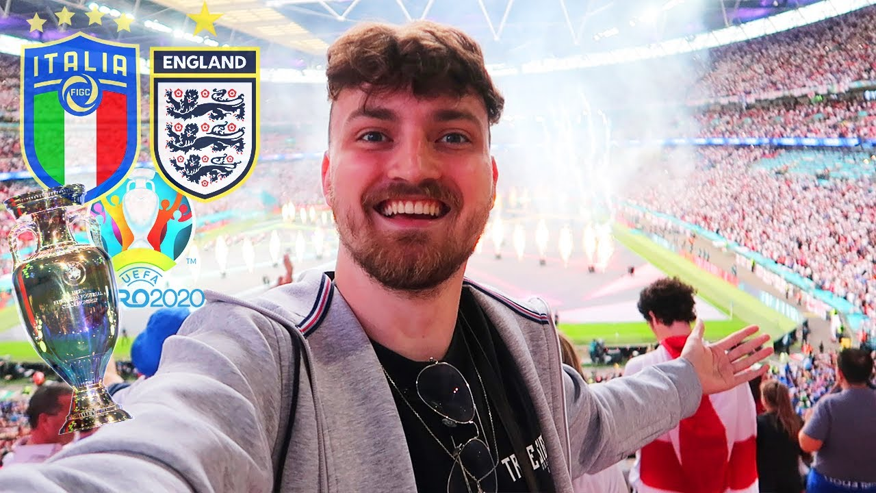 Italien vs. England - EM FINALE Stadionvlog 🇮🇹🏴 | Drama im Wembley | ViscaBarca