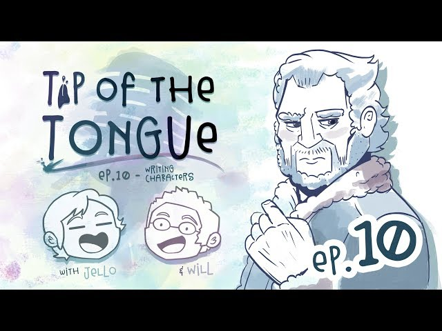 Tip of the Tongue - WRITING   How to Write Characters