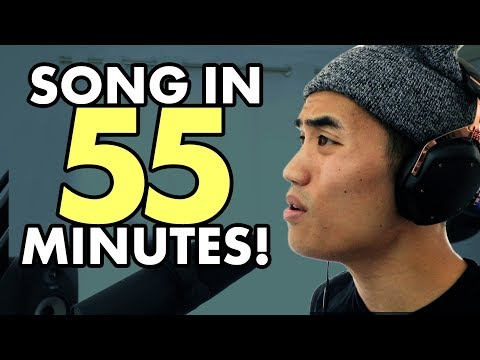 Making a 3 minute song in 55 minutes | Andrew Huang