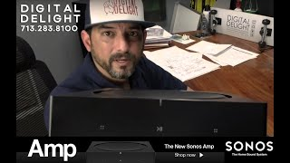 SONOS AMP REACTION VIDEO