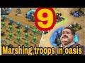 Last Empire War-Z: MAKE 9 MARSHING TROOPS  in oasis/ 9 ПОХОДОВ В ОАЗИСЕ