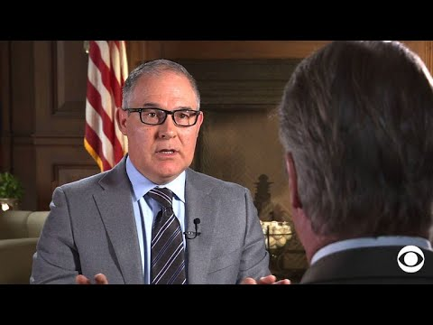 Scott Pruitt talks with Major Garrett: full interview