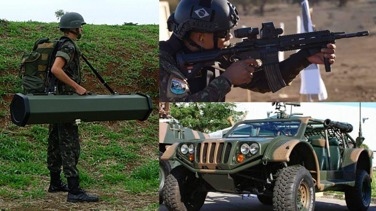 As Armas mais Modernas do Exército Brasileiro