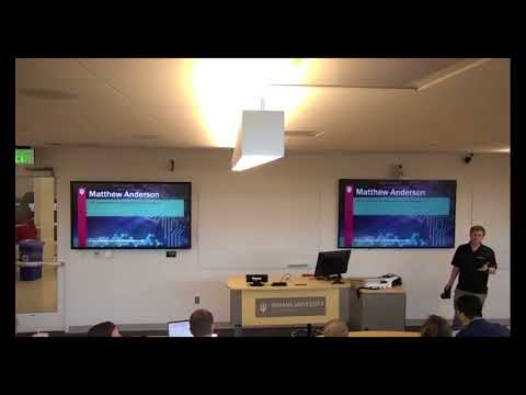 HPC Application for Multispectral Facial Recognition - Matthew Anderson
