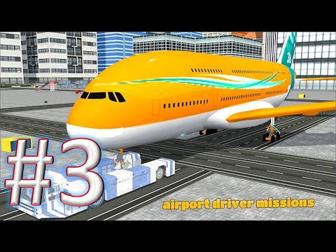 Airport Ground Flight CrewAirport Ground staff 3D gameplay walkthrough 3 android & ios