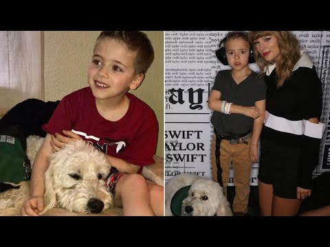 Boy With Autism Meets Taylor Swift After She Gave Him $10K for Service Dog