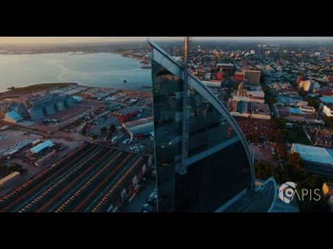 DJI Inspire 1: Montevideo at 4k