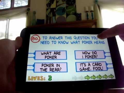 Impossible Quiz app Walkthrough
