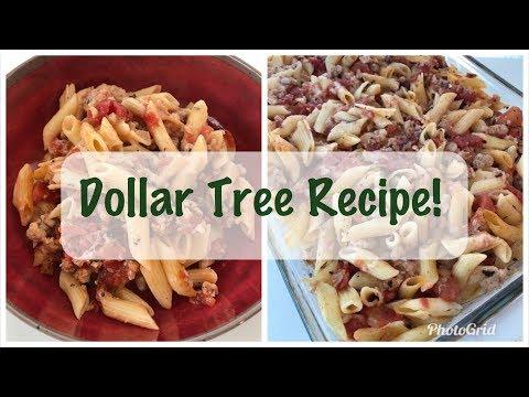 Dinner On A Dollar Series | Dollar Tree Meal Ideas (Dinner #1)