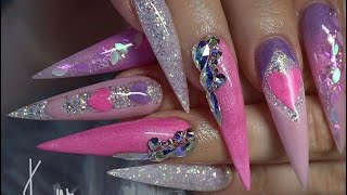 how to shape coffin nails