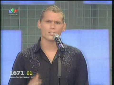 Valdas - Breath Easy - SLAGERIU FESTIVALIS 2010.avi