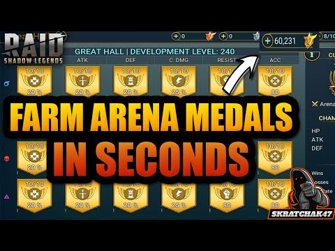 Raid Shadow Legends   Speed Farm Arena Medals   Best Blender Comp Guide And Tips