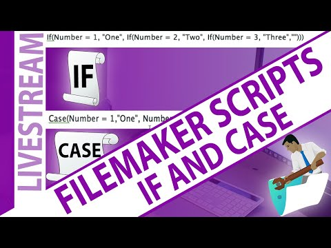 FileMaker Scripts - 'If' and 'Case' Script Steps for Beginners