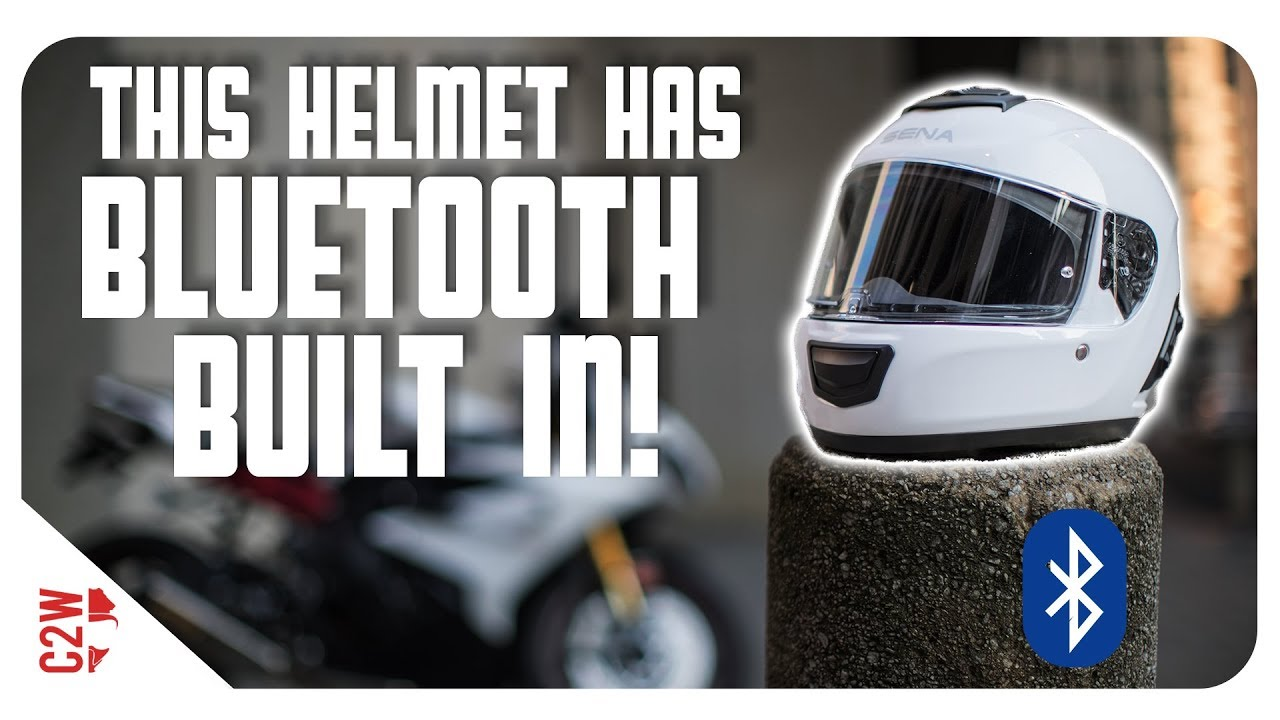 Bluetooth Built In To A Motorcycle Helmet First Fit Sena