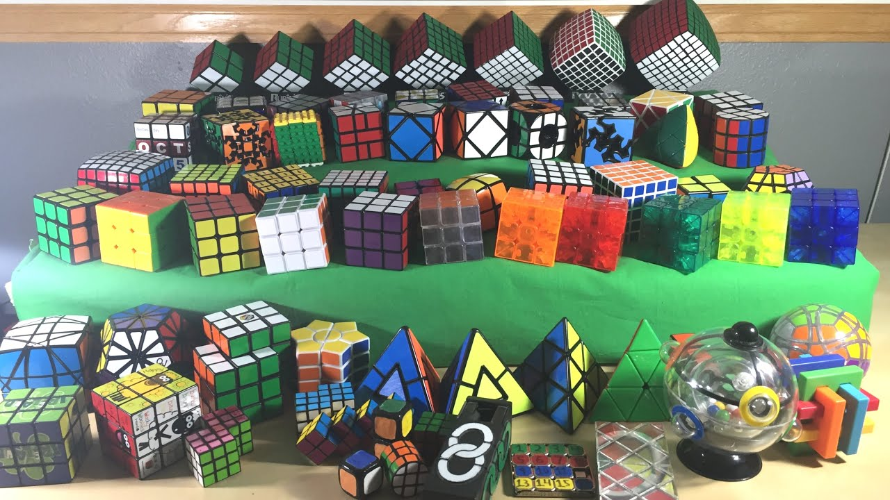 NEW Rubiks Cube Collection