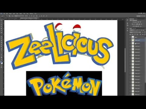 Making Of: Zeelicious In Pokémon Font