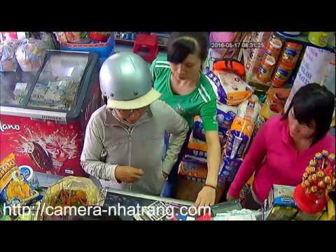Camera phát hiện kẻ trộm sữa