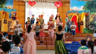 沙崙學校2016 VBS 上午班 橙組