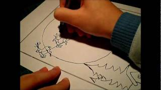 How to draw: Santa Claus  coming to town..!