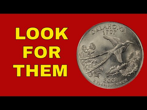Top 5 State Quarters You Should Know About! State Quarters Worth Good Money!