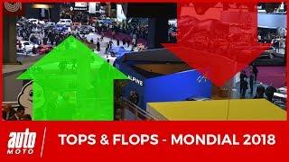 Les TOPS & FLOPS du Mondial Auto 2018
