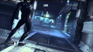 Batman Arkham City Predator Challenge room- Police Brutality Extreme (nightwing)