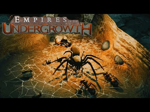 CREEPY NEW ENEMY | Empires of the Undergrowth | Let's Play Gameplay | S01E03