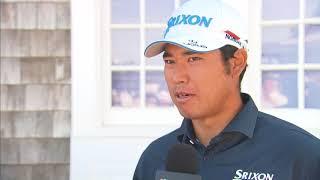 松山英樹 3日目のインタビュー | Hideki Matsuyama Round 3 Interview thumbnail
