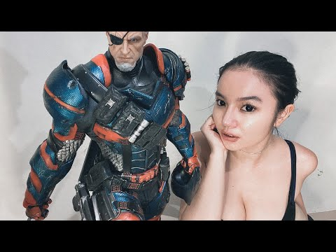 Monica Ardhea Cinematic Unboxing Prime1 Deathstroke Exclusive Large 1:3 Scale Statue @Prime1Studio