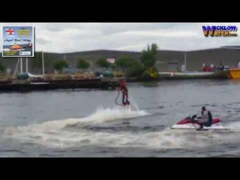 Arklow Maritime Festival 2016 Iron Man jet pac