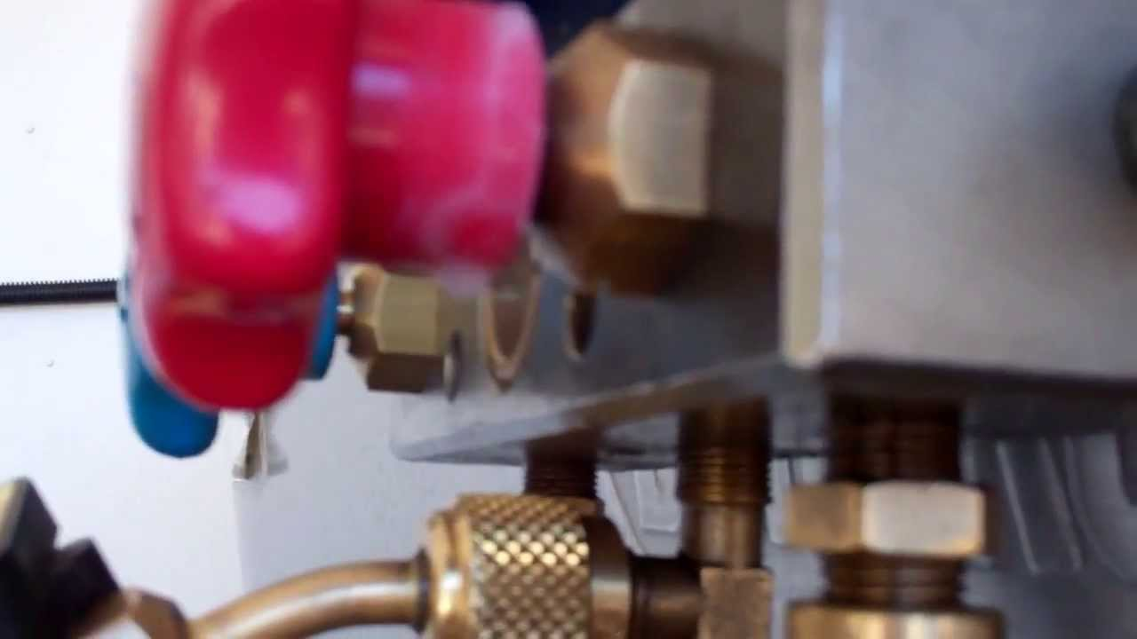 Refco manifold leak fix doovi for 1 stage vs 2 stage vacuum motor