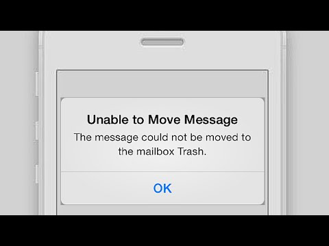 Unable to delete emails on iphone 5s