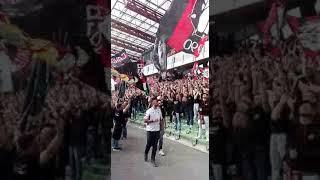Foggia - Cesena ultras curva Nord e curva sud