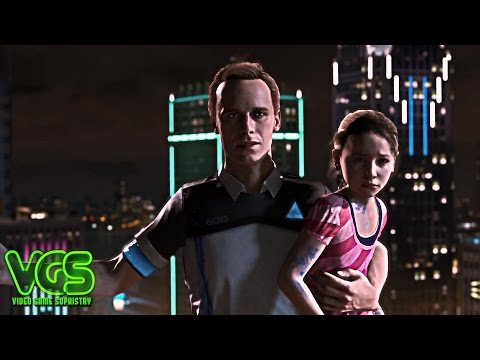 From the makers of Heavy Rain - Detroit: Become Human