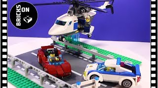 LEGO CITY POLICE 60138 POLICE HIGH-SPEED CHASE Speed Build Instruction Lego Stop Motion Animation