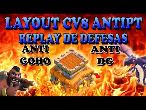 layout cv8 antipt com replay de defesas 2 anti dg anti goho war