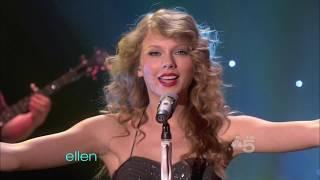 Taylor Swift  You Belong With Me  #Ellen 2010