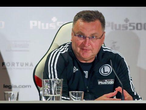 Trener Czesław Michniewicz po meczu z Dritą Gnjilane