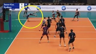 Volleyball Acrobatic Saves (HD)